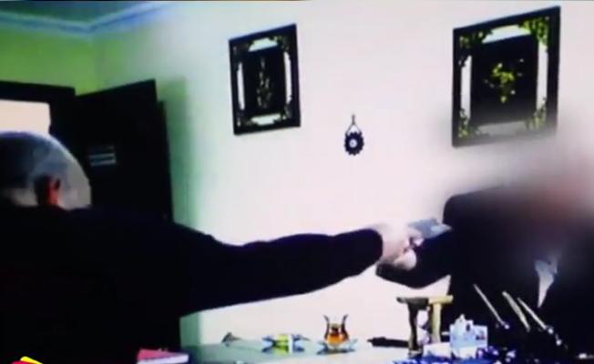 VİDEO | Başmüfettiş rüşvet alırken yakalandı