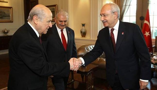 Bahçeli ile Kılıçdaroğlu arasında HDP gerilimi