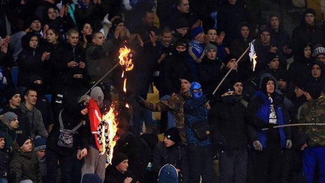 UEFA'dan olaylı Dinamo Kiev-Beşiktaş maçı için karar