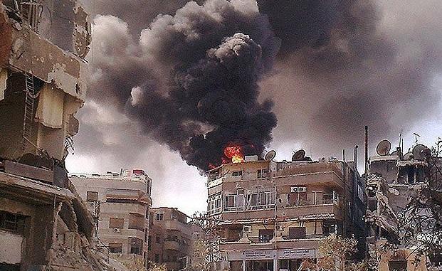 Şam'da polis merkezine saldırı: 7 yaşındaki 'intihar eylemcisi' kız çocuğu öldü