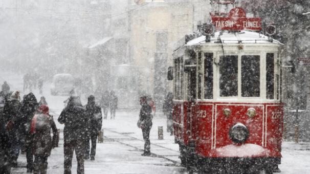 Meteoroloji'den İstanbul'da kar yağışı ile ilgili açıklama geldi