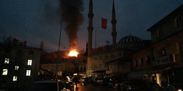 Adana Aladağ'da yine yangın!