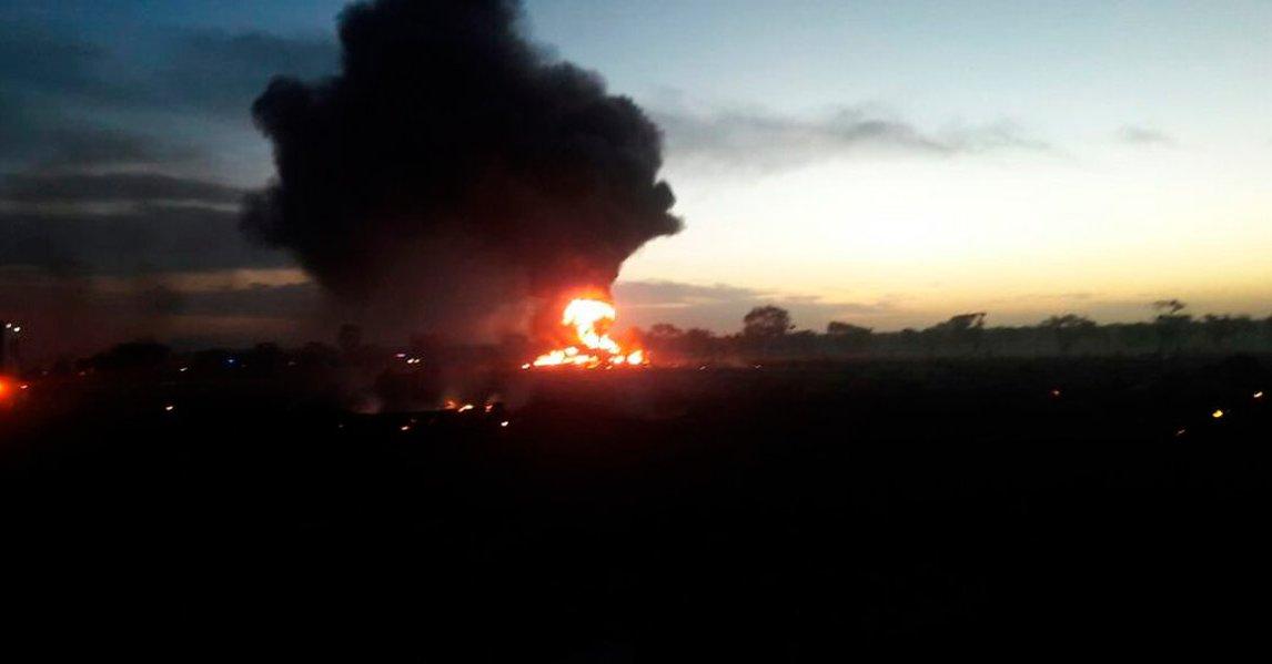 Kolombiya'da nakliye uçağı düştü