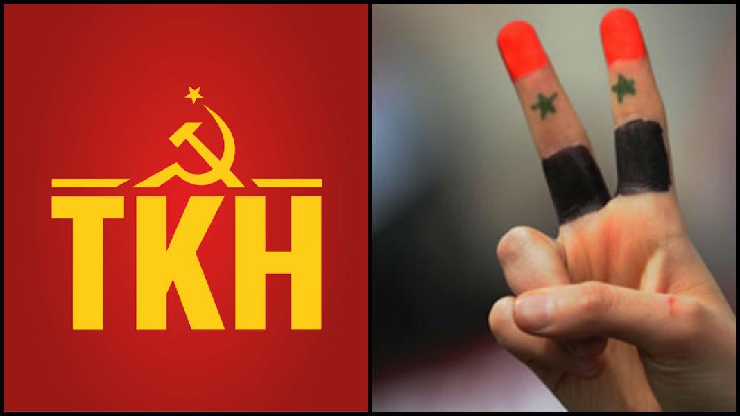TKH'den Suriye'deki iki komünist partiye mektup: Suriye halkının Halep'teki görkemli zaferini selamlıyoruz!