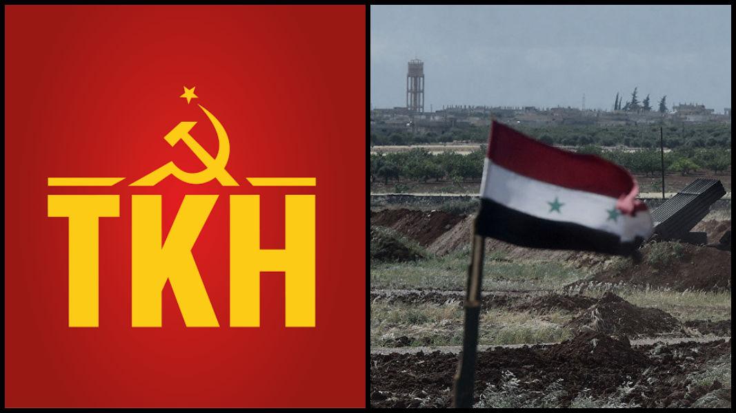 Komünistlerden açıklama: AKP iktidarı Suriye konusunda attığı imzanın gereğini yerine getirmelidir!