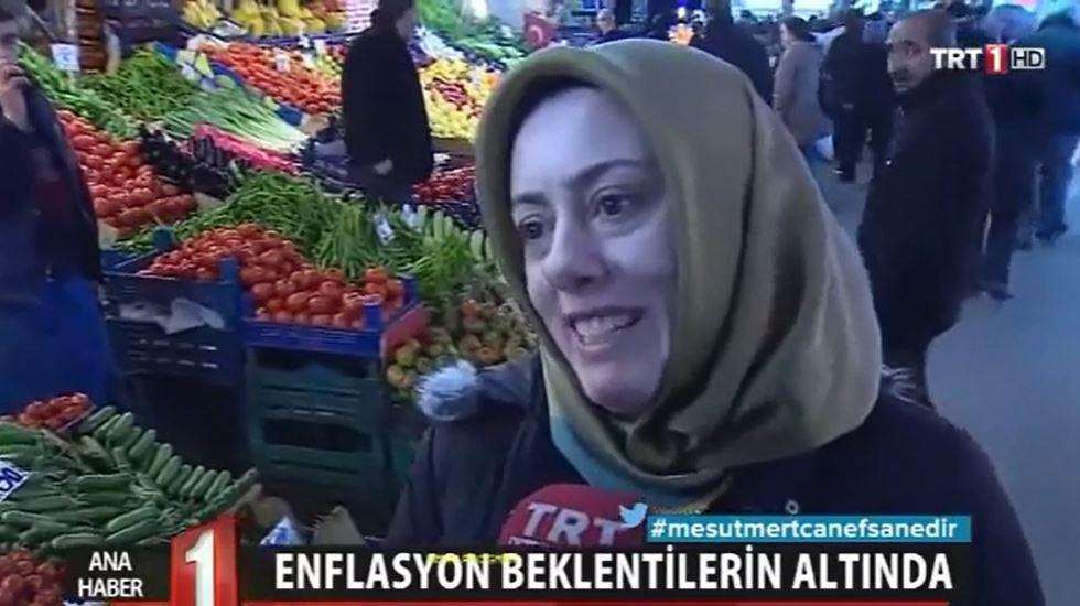 VİDEO | Bu da TRT'nin çarşı pazarı: Her şey çok ucuz, yüzler gülüyor...