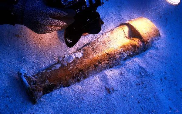 Marmaris açıklarında tarihe ışık tutacak bir heykel bulundu!