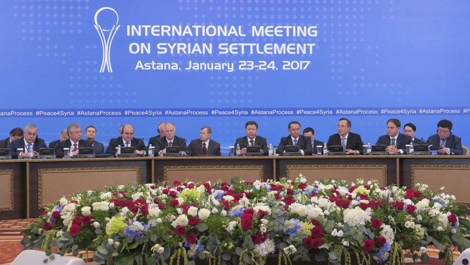 Suriye temsilcisi Caferi Astana'da konuştu: ABD ve bölgedeki müttefikleri cihatçı terörü araç olarak kullanıyor