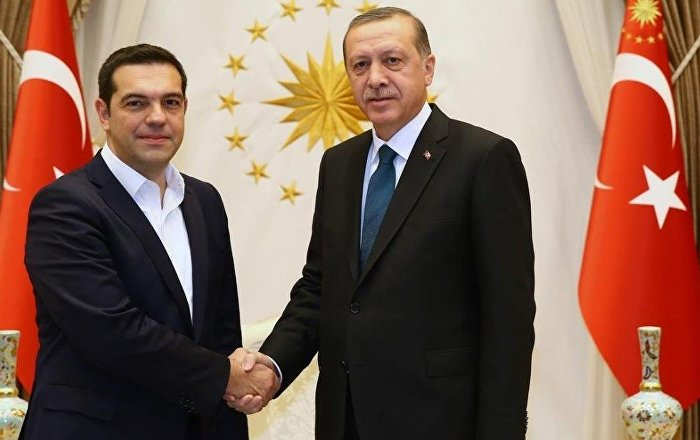 Erdoğan ve Çipras Kıbrıs'ı görüştü