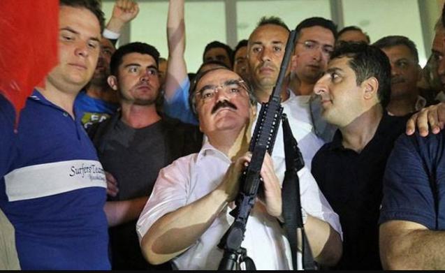 Silahlı şov da yetmedi: Vali Coş'a kötü haber...