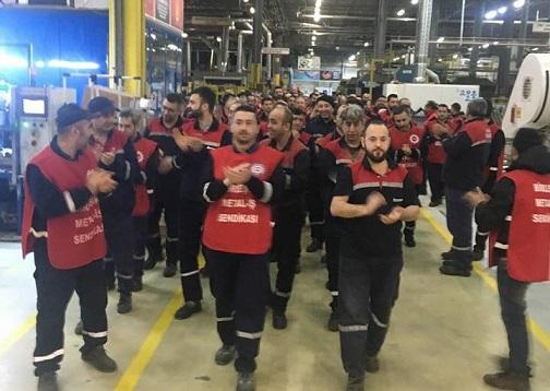 Metalde grev sona erdi: Grev yasağına rağmen grevle kazandık!