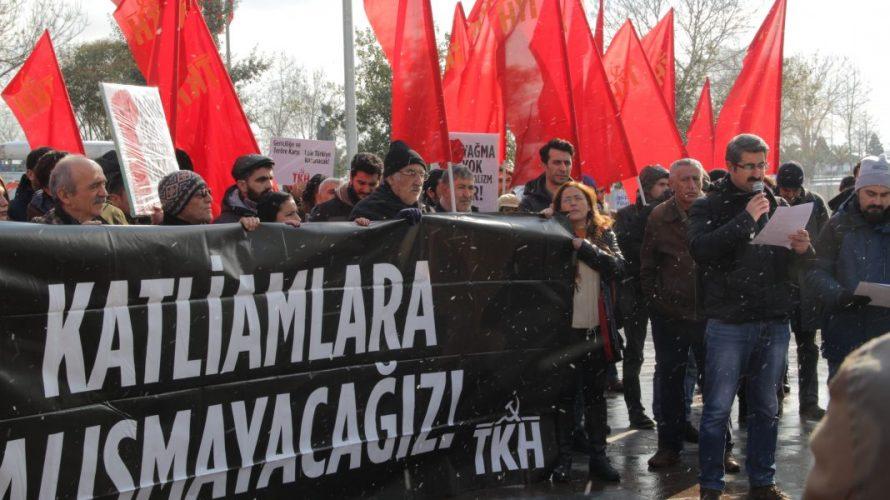 Komünistlerden gericiliğe ve teröre karşı eylem: Ülkemizi gerici barbarlığa teslim etmeyeceğiz!
