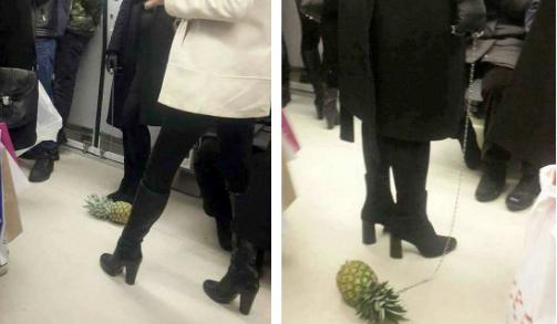VİDEO | Ankara'da'tasmayla ananas' gezdiren kişiyle ilgili gerçek ortaya çıktı