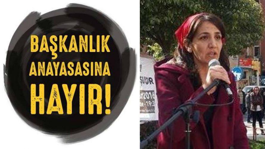 İKD Genel Başkanı Nuray Yenil: Başkanlık rejimi saltanatın tescillenmesidir