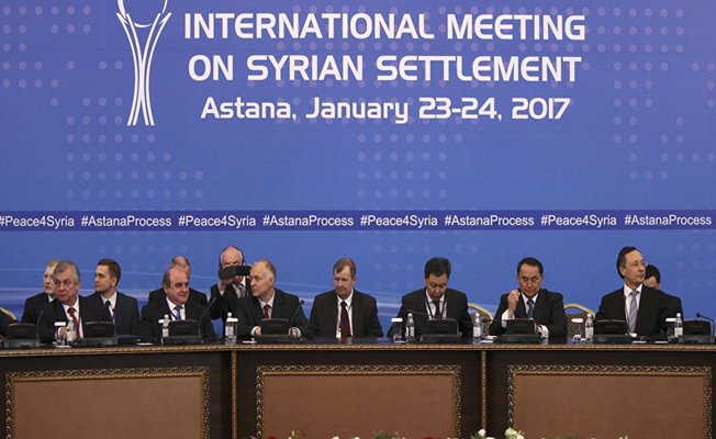 Astana görüşmeleri için yeni tarih açıklandı