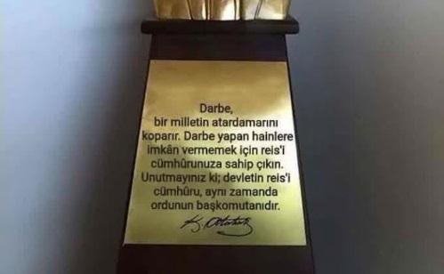 Aktroller Atatürk'e bunları söyletti: Yalanları kısa sürede patladı