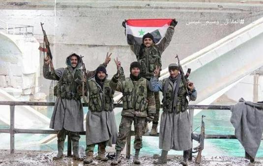 Suriye ordusu Vadi Barada'da kontrolü sağladı
