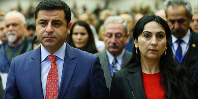 Demirtaş'a 142, Yüksekdağ'a 83 yıl hapis istemi!
