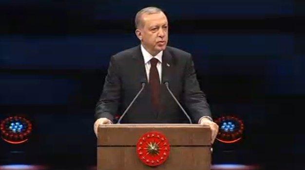 Erdoğan: AKM'yi yıkıyoruz
