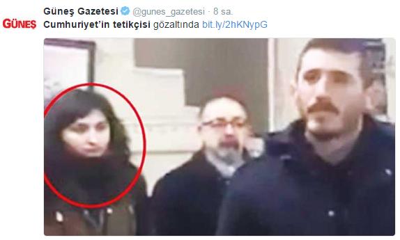 Haber metni mi,'örgüt' bülteni mi: Güneş gazetesinden aleni tetikçilik...