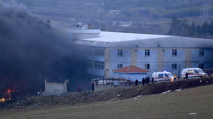İstanbul'da fabrikada patlama: Yaralı işçiler var