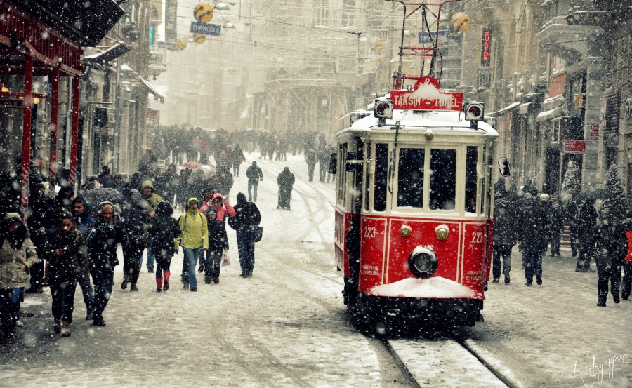 Taksim'de tarihi tramvay seferleri yapılamayacak