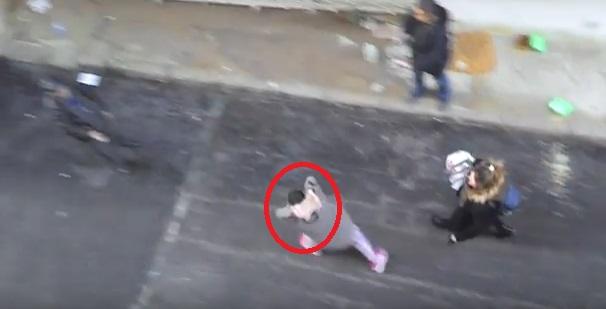 VİDEO | Sokak hayvanlarını besleyen yaşlı adama parke taşı ile saldırı