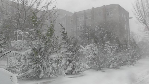 İstanbul'da 7 üniversitede kar tatili