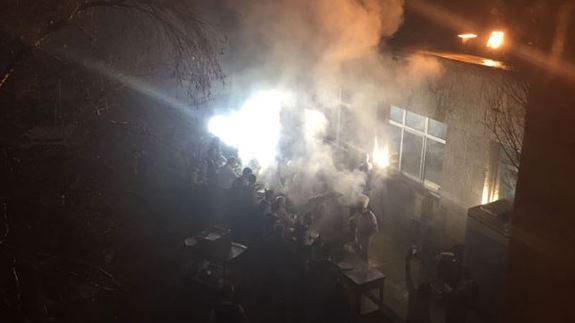 AKP'nin başkanlık keyfi: Meclis'te mangal partisi yaptılar!