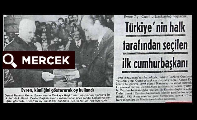 1980 sonrası ülkemizdeki halk oylamaları