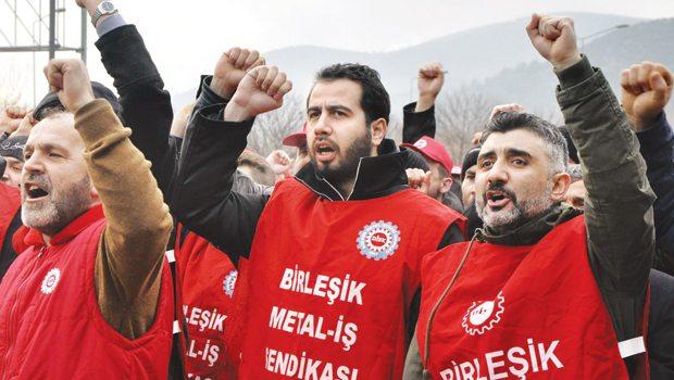 Metal işçileri fabrikalarda eylemlere başlıyor!