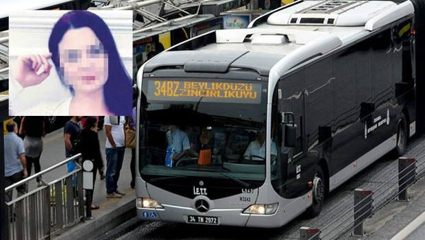 Metrobüste yer kavgası: Hakaretlere sinirlenen hemşire şırıngayla saldırdı