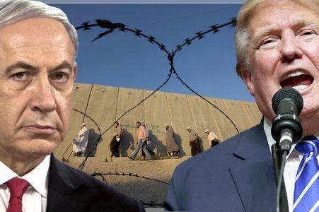 Filistin sınırına duvar ören Netanyahu'dan Trump'a destek: Mükemmel bir fikir