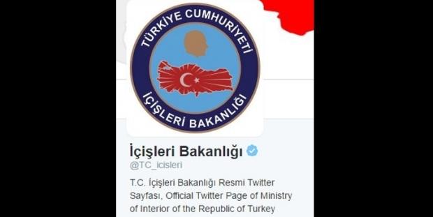 İçişleri Bakanlığı yoğun tepki üzerine 'laikliği savunanları hedef gösteren' tweetini sildi