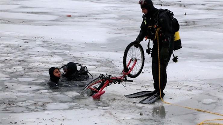 Porsuk Çayı'nda feci ölüm: Buz kırıldı, çocuklar boğuldu
