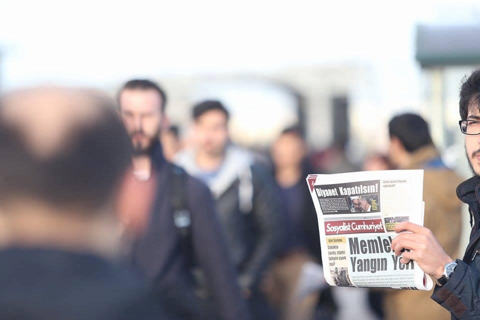 Aydın'da Sosyalist Cumhuriyet çalışmasına faşist saldırı