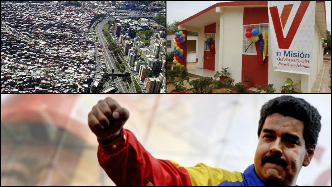 Venezuela'yı karalayanlar utansın: Emekçilere 1 milyon 400 bin ücretsiz konut teslim edildi!
