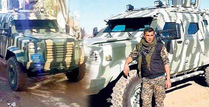 ABD'den YPG'ye zırhlı araç ve silah yardımı