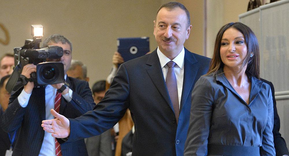 Eşini cumhurbaşkanı yardımcısı yapan Aliyev'den AKP'ye başkanlık desteği