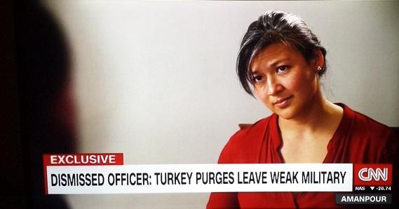 'Darbeci' olduğu iddia edilen asker CNN'e çıktı