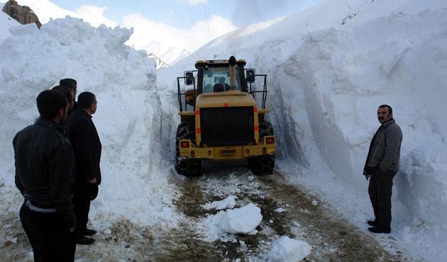 Kar nedeniyle üç ilde 737 yerleşim yerine ulaşım sağlanamıyor