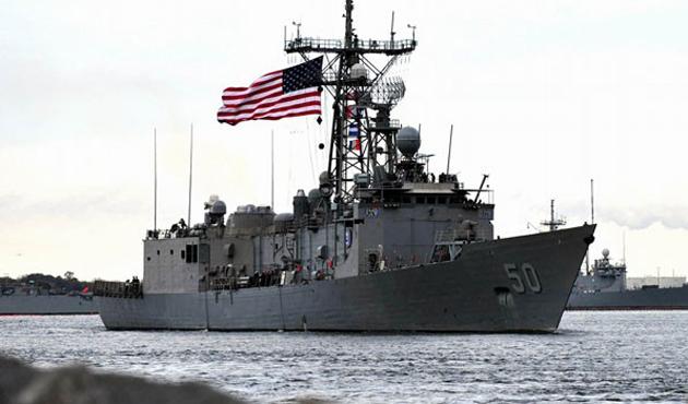 NATO savaş gemileri Samsun'da!