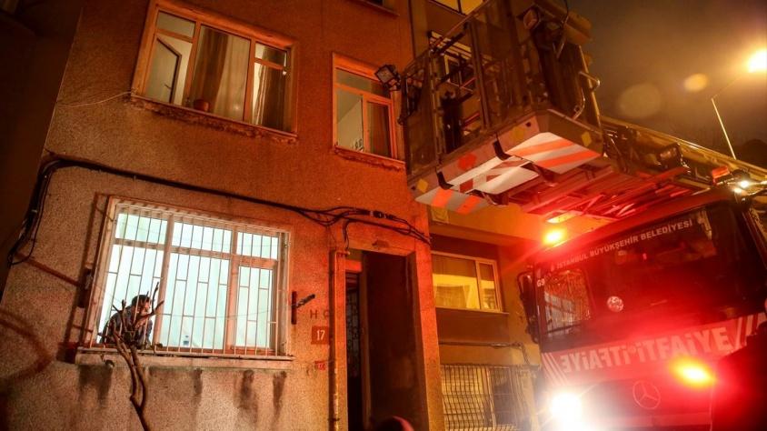Beşiktaş'ta yanmış erkek cesedi bulundu