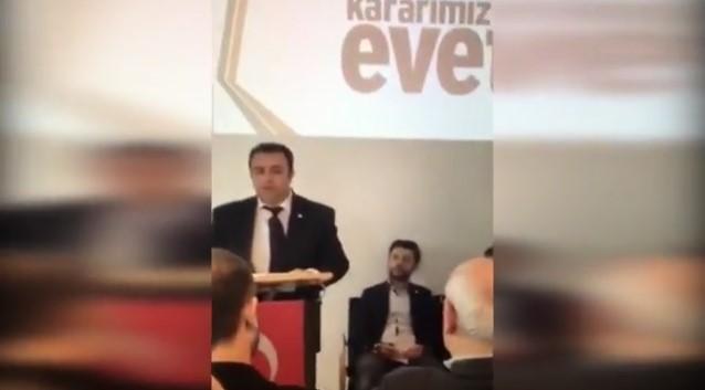 AKP Avusturya sorumlusu da aynı telden çalıyor: Referandumda