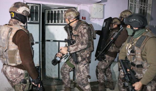 İstanbul'da dokuz ilçede IŞİD operasyonu