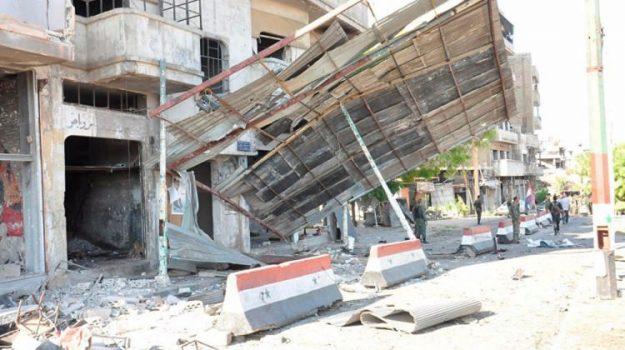 Suriye'nin Humus kentinde intihar saldırıları: 42 ölü