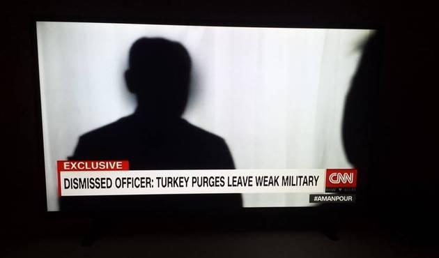 CNN'e konuşan 'darbeci general'in kimliği belli oldu