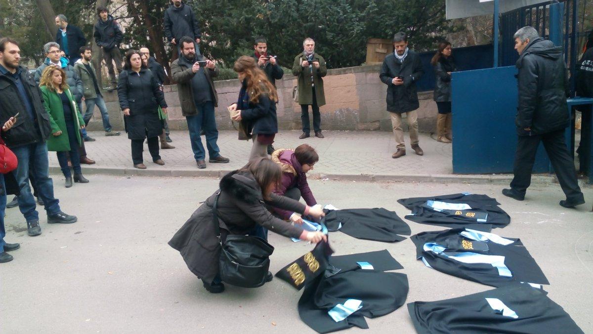 Ankara Üniversitesi SBF Yönetim Kurulu: Hocalarımız en kısa sürede iade edilmeli