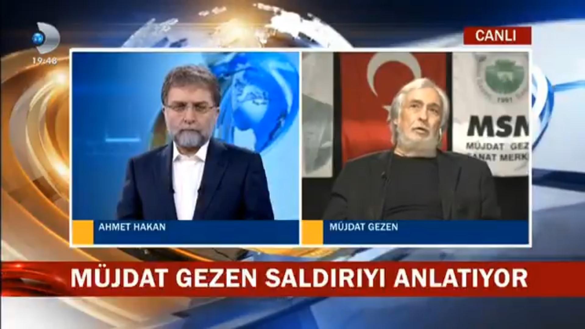 VİDEO | Müjdat Gezen'den canlı yayında 'ters köşe':
