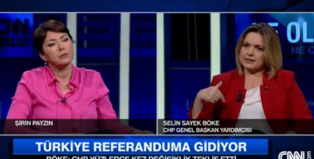 CHP Sözcüsü Böke'ye canlı yayında ölüm tehdidi!